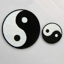 New Patches Yin Yang Iron On Patches For Clothes DIY Accessory DIY Customise Denim Classic Feng Shui Brand Patch Chinese