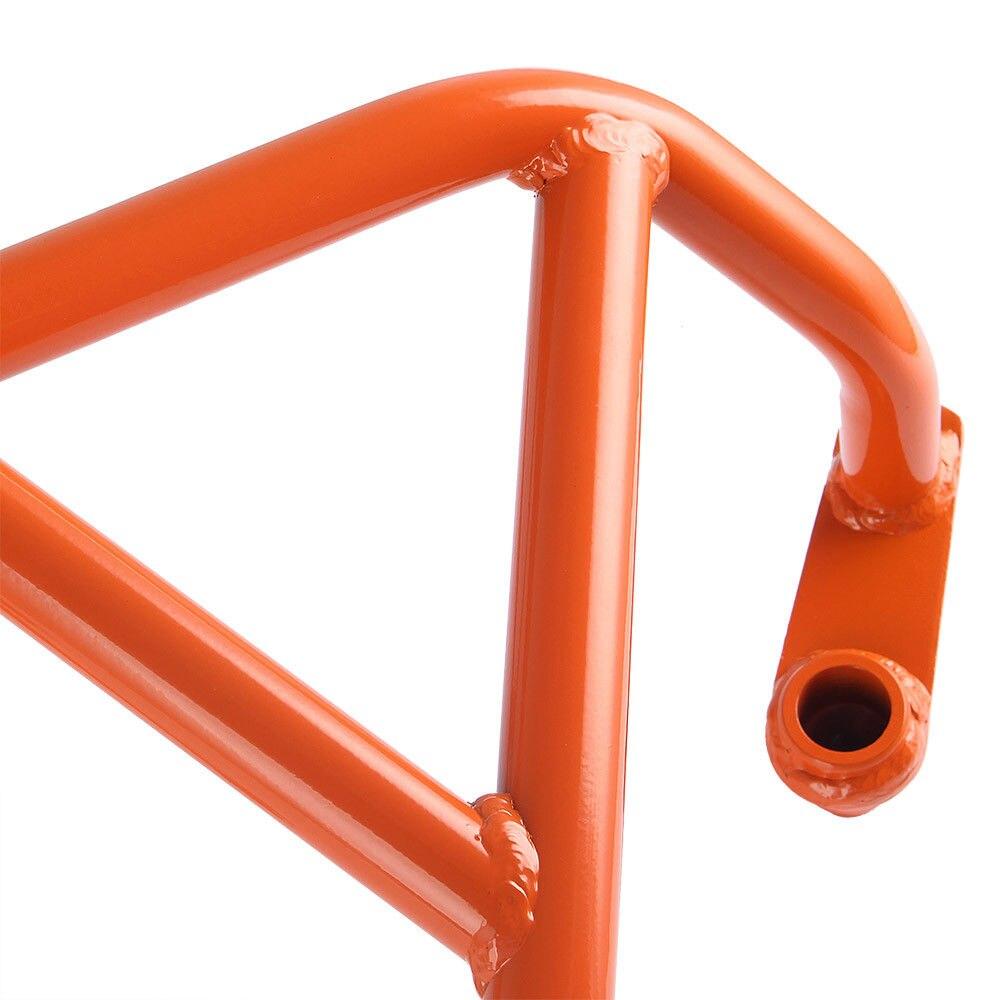 LJBKOALL Motorcycle Engine Bumper Guard Crash Bars Frame Slider Protector Fit For KTM Duke 690 2013 2014 2015 2016 Orange in Covers Ornamental Mouldings from Automobiles Motorcycles