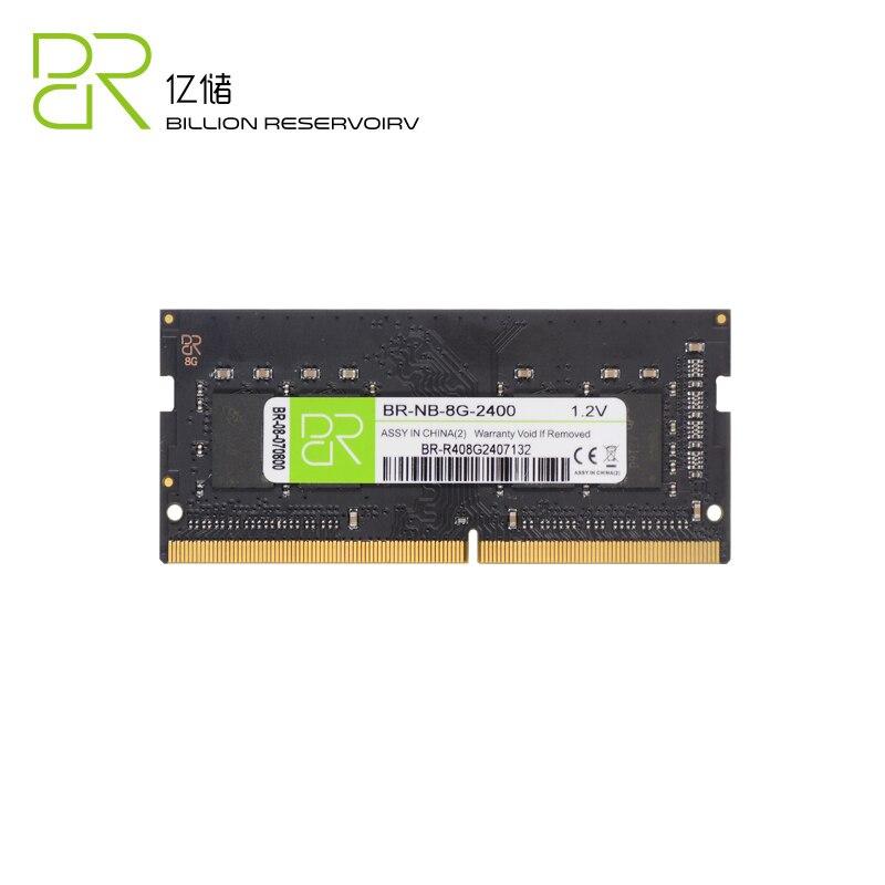 BR tout nouveau SODIMM RAMs DDR4 4 GB 8 GB RAM Memoria 2400 MHz PC19200 1.2 V 8 GB 4 GB mémoire 260PIN 64bit pour ordinateur portable