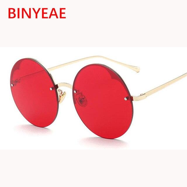 fbd175982a99d3 Clair jaune big round lunettes de soleil femmes unsiex sans monture vintage  rétro lunettes transparent couleur
