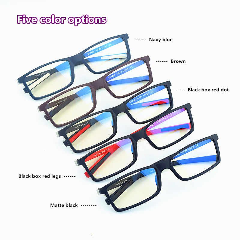 Kacamata Frame Pria Vintage 2019: Hizkia Merek Desain Kacamata Logam Retro Miopia Komputer Kacamata Bingkai Wanita Kutu Buku 0512