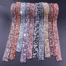 Self-Adhesive Rhinestone Tape Applicator Rhinestones For Clothes Strass Hotfix Applique Trim Crystal Jewelry Ribbon