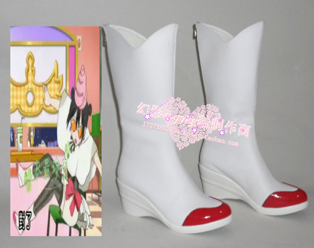Love Live! Nico Yazawa White Halloween Cosplay Shoes Boots H016-in ...