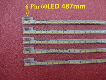 "New 20 PCS/lot 60LED 487mm LED backlight strip for 39""TV LG Innotek 39inch 7030PKG 60ea T390HVN01.0 73.39T03.003-0-JS1"
