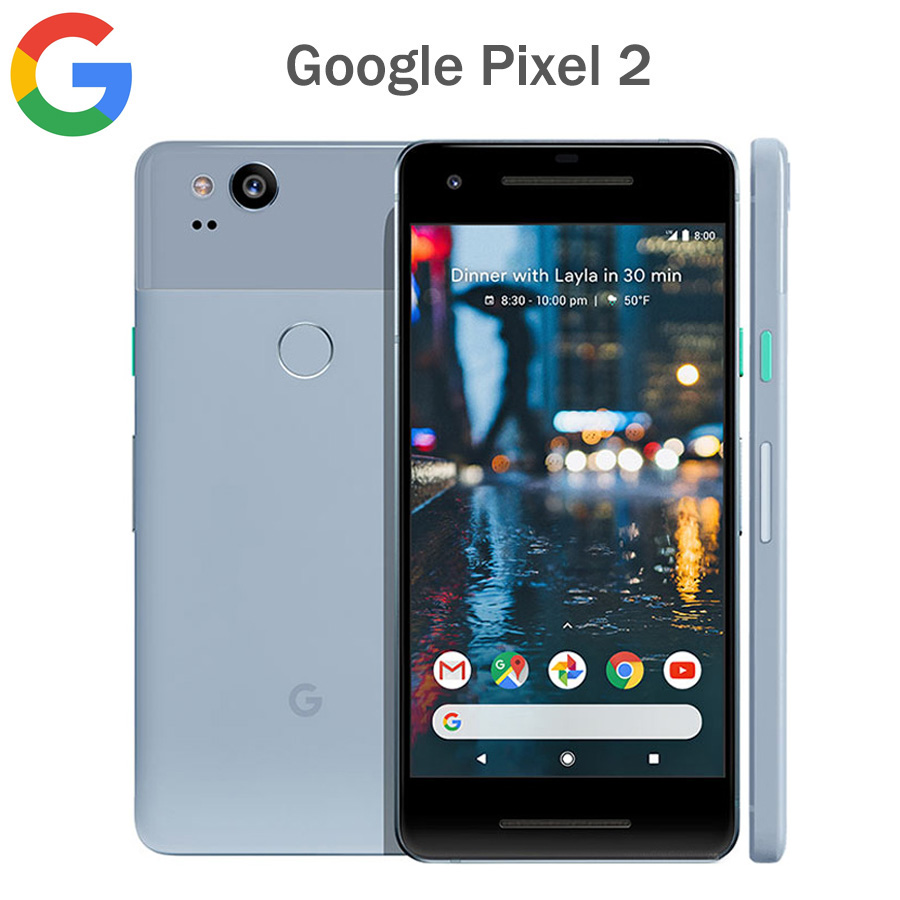 "Original US Version Google Pixel 2 4G LTE Mobile Phone 5.0""1920x1080 4GB RAM 64GB/128GB ROM OctaCore Snapdragon 835 Android NFC"