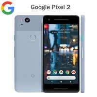 "Version originale US Google Pixel 2 4G LTE téléphone portable 5.0 ""1920x1080 4 GB RAM 64 GB/128 GB ROM OctaCore Snapdragon 835 Android NFC"
