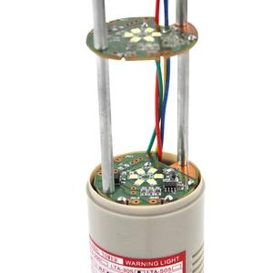 Image 4 - LTA 505J 3 RYG 3 צבעים LED מגדל אור DC12V/24 V/AC110V/220 V מוצרים מחוון אורות עם עגול תחתון 90dB צליל זמזם