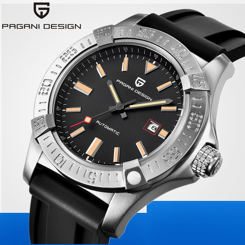 PAGANI DESIGN Business Mechanical Watch Men Luxury Brand Genuine Leather Men Automatic Watch Male Clock relogio masculino saat