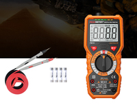 Digital Multimeter True RMS DC AC Voltage Current Temperature Tester Ammeter Multi Tester PM18C Multimeters HFE NVC Tes