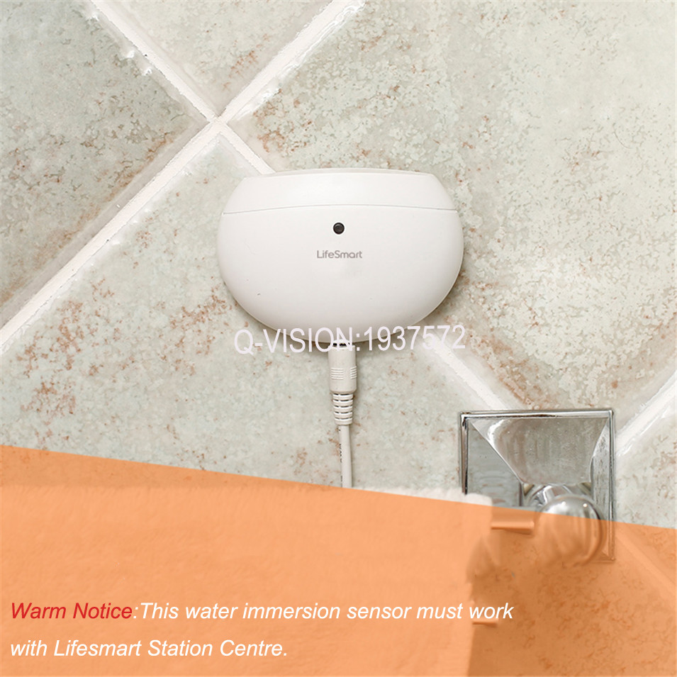 LifeSmart Water Immersion Sensor Home Prevent Water Leakage Overflow Two-way Alarm Realtime Monitor Smart Home Sensor by Phone-4