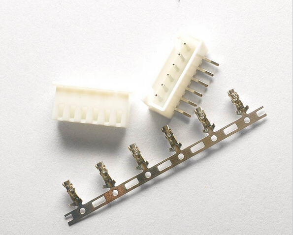 100sets/Lot 6 Pin Right Angle Connector Leads Header 2.54mm XH-6P Kit Housing Pin header Terminal
