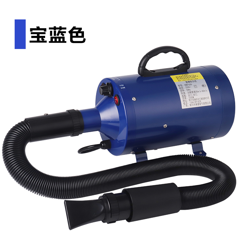 Pet shop Water blower High Power Silent Dog supplies hair dryer Household Golden Retriever Special blowing machine