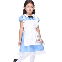 Anime Maids Cosplay Costume Children Halloween Performance Costumes Kids Holiday Role Playing Party Dancing Dress Drama Clothing kids cosplay star wars the force awakens imperial stormtrooper role playing costumes uniforms performance performance clothing