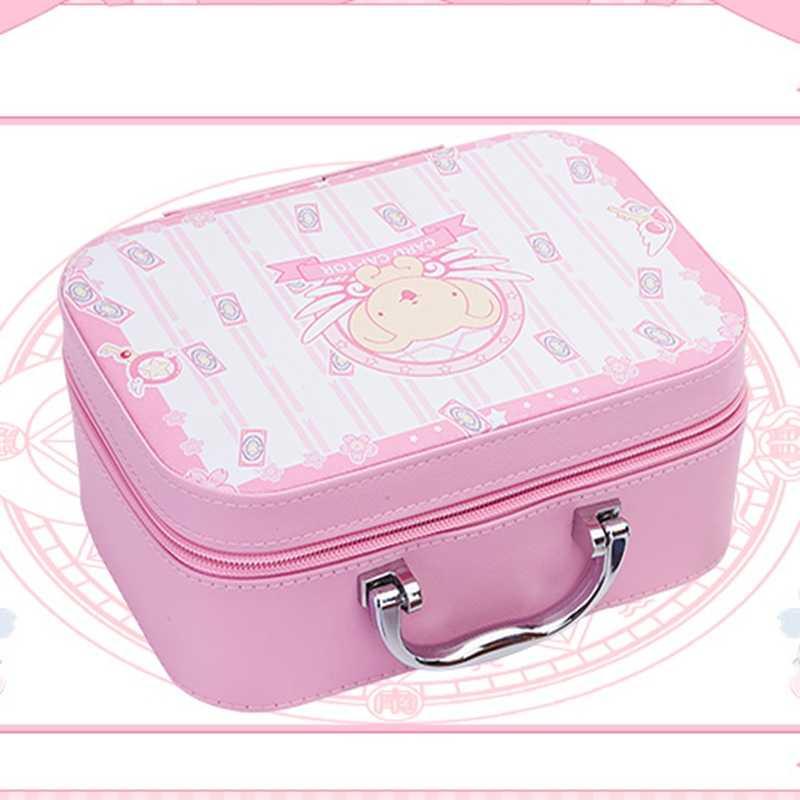Карта аниме Captor Сакура КИНОМОТО Сакура Цербер Косплэй Коллекция сумка-косметичка розовый милый Лолита подарок для девочки