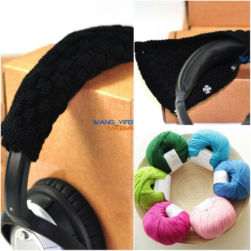 ExtraFine Pure Wool Headband Cushion for Bose QC35 QC25 QC15 QC2 AE2 AE2I SoundLink SoundTrue On Over Ear Headphones image