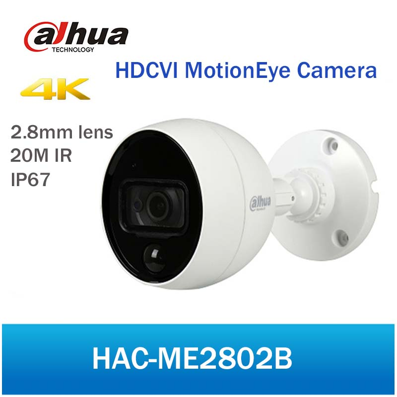 Здесь продается  Original New Dahua HAC-ME2802B 4K HDCVI MotionEye Camera 20M IR Security CCTV Digital Video Camera without logo  Безопасность и защита