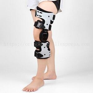 Image 2 - 관절염 인대를위한 oa 무릎 받침대 medial hinged knee support 골관절염 무릎 관절 통증 스포츠 unloading left right