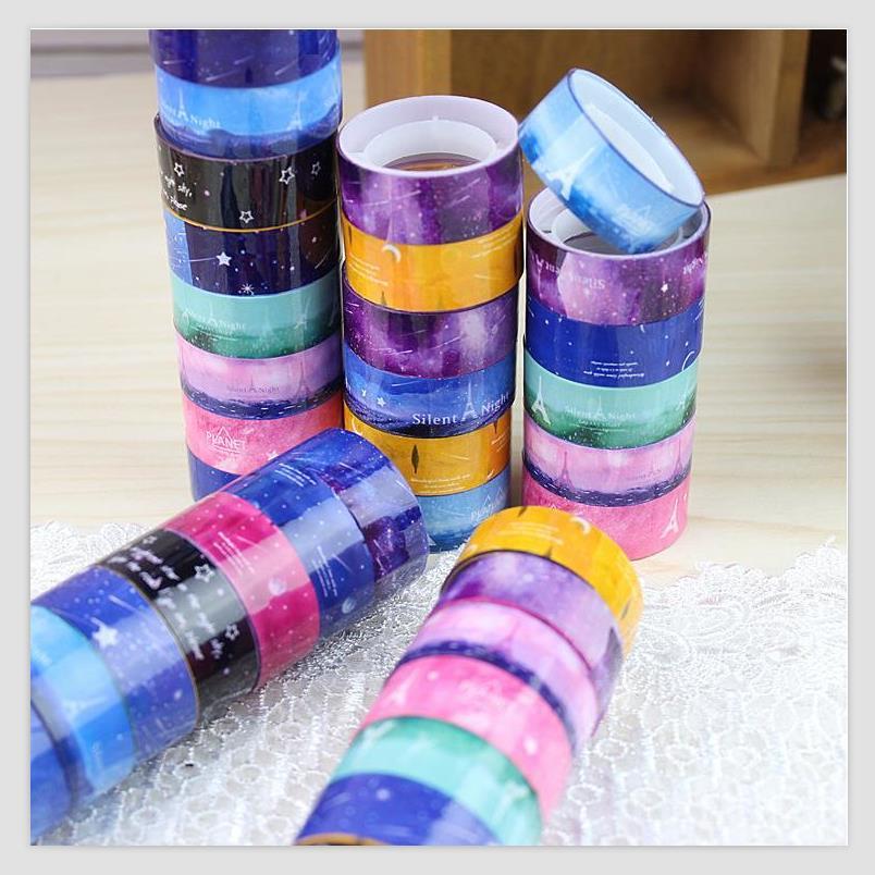 10 pcs lot diy kawaii decoration tape cute masking tape for Decoration masking tape