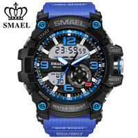 Fashion New Watch Men G Style Waterproof LED Sports Military Watches S Shock Men's Analog Quartz Digital Watch relogio masculino