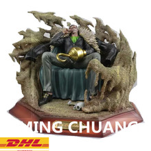 Statue ONE PIECE Seven Warlords Of The Sea Bust Sir Crocodile Mr.0 Enemy Monkey D. Luffy GK Action Figure Toy 30CM BOX D818