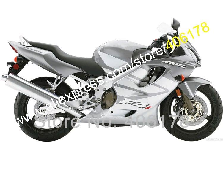 Hot Sales,Custom fairing kit for Honda CBR600 2004-2007 CBR 600 04-07 F4i Gray Silver motorcycle parts (Injection molding) мышь cbr cm500 gray серая