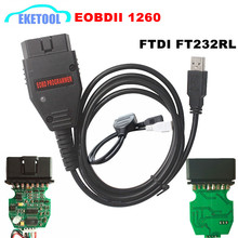 Galletto 1260 Newest EOBD ECU Programmer Read Write Car ECU Flasher Works For Multi-Car OBD OBDII Diagnostic Tool Multi-Language