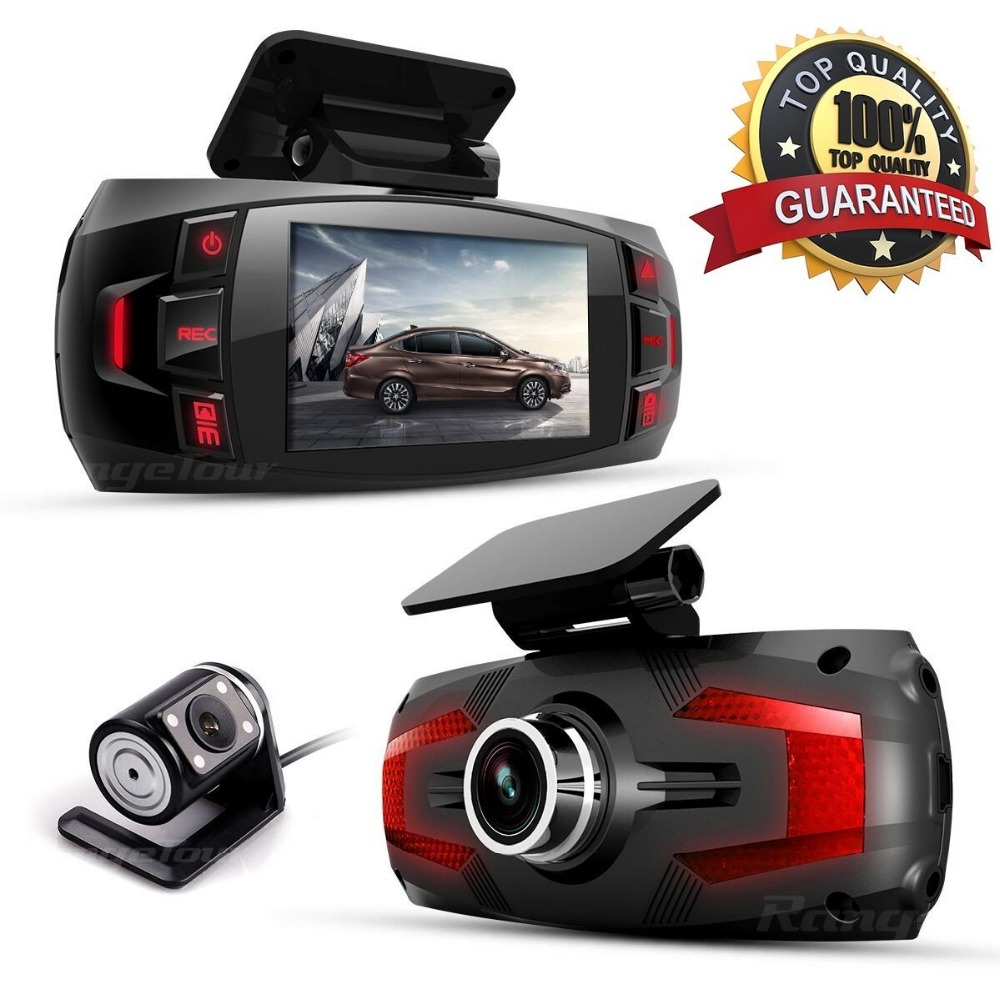 Eaglecam dual camera Car DVR Dashboard Camera Support Rear Camera Full HD 1080P 2 7 LCD