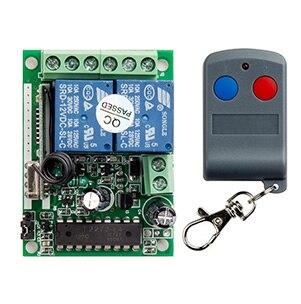 Código fijo última DC12V 10A 2CH RF Sistema de Interruptor de Control Remoto Tra