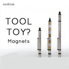 Eeshian Полярный Ручка, модульные металлические магнитная ручка + Стилусы, гелевые ручки, многофункциональный, инструмент или игрушку, подарок, школы и офиса IC0501