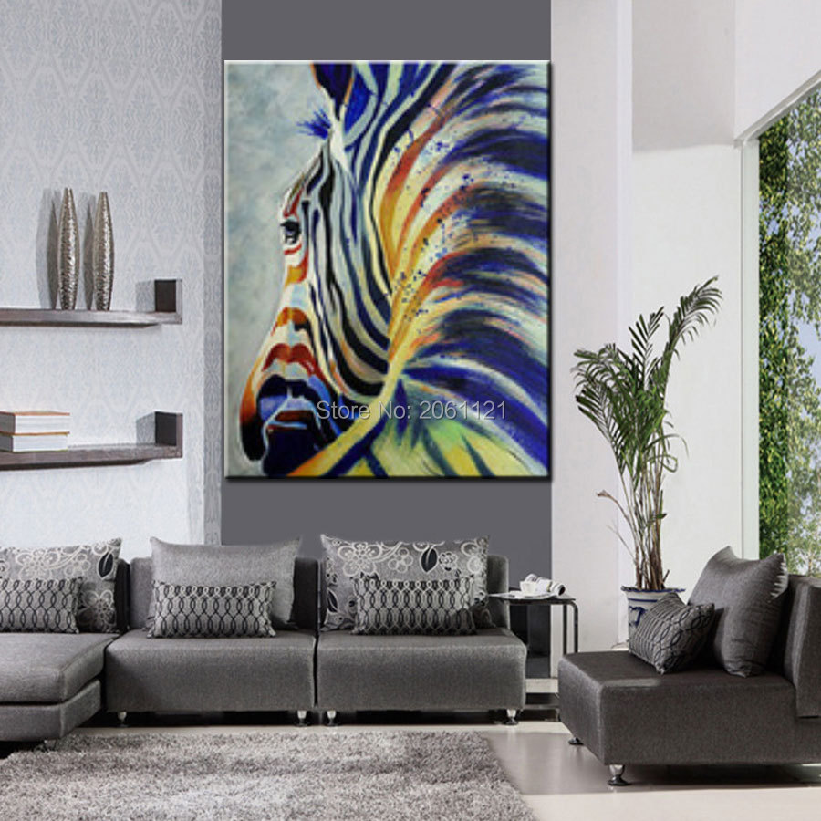 buy hand painted modern abstract pop art. Black Bedroom Furniture Sets. Home Design Ideas