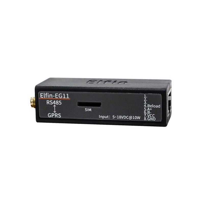 Puerto serie RS485 a GSM GPRS servidor de convertidor de dispositivo para Elfin-EG11 apoyo Modbus TCP Protocolo