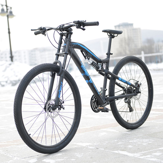 Hot Wolf 29 Inches Bicycles Aluminum Alloy 24 Speed Soft Tail