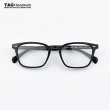 Квадратные очки, оправа из ацетата, мужские очки с оптической оправой, оправы для очков, Брендовые очки, прозрачные очки для близорукости, компьютерные очки для глаз, wo men