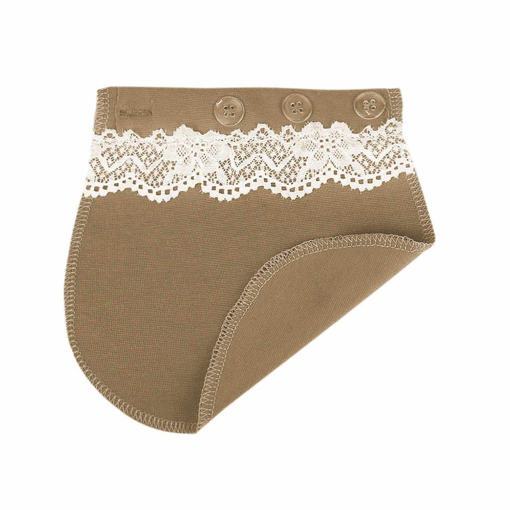 MUQGEW Maternity Pants Pregnancy Waistband Belt Extender Adjustable Elastic Pants Waist ceinture abdominale