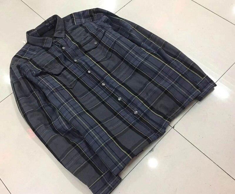 SauceZhan Vintage Raw Denim Jacket Unwashed Cotton Jacket Men Jeans Jacket Men Selvedge Denim Jacket 14