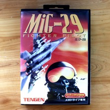Mig-29 Fighter Pilot 16 Bit MD Game Card with Retail Box for Sega MegaDrive & Genesis Video Game console system