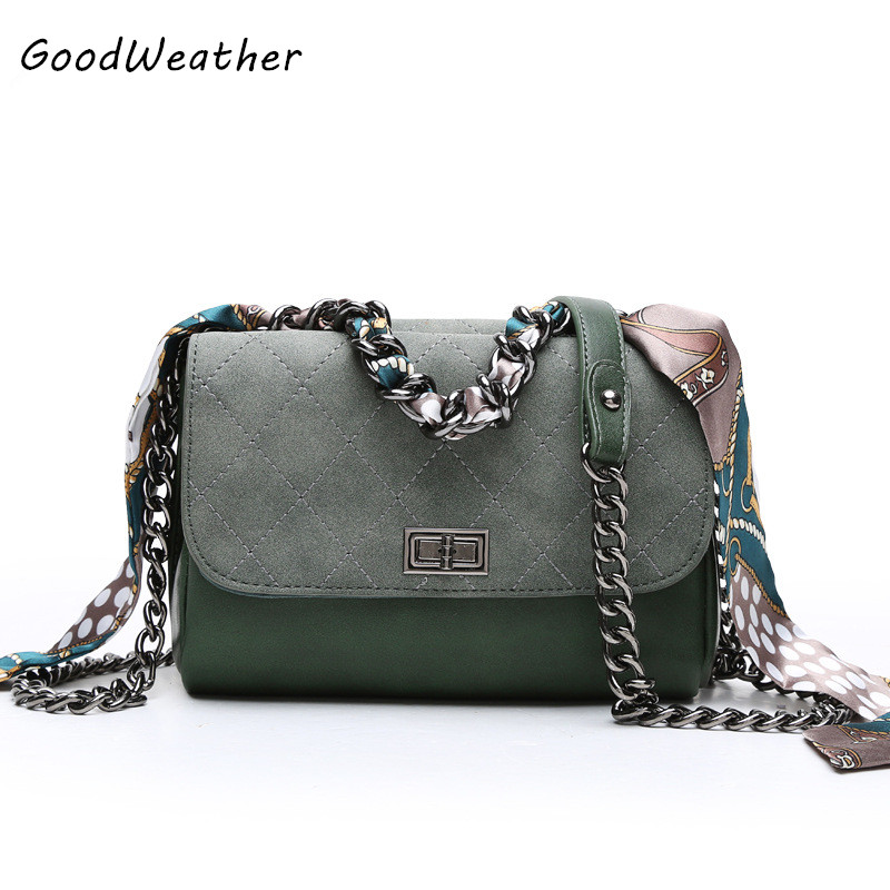 New arrival high quality PU leather handbag fashion women shoulder bag ribbons small crossbody bags army green ladies chain bags high quality shoulder bags designer 2017 handbag ladies small chain shoulder bags women bag bolsas fashion women s handbags