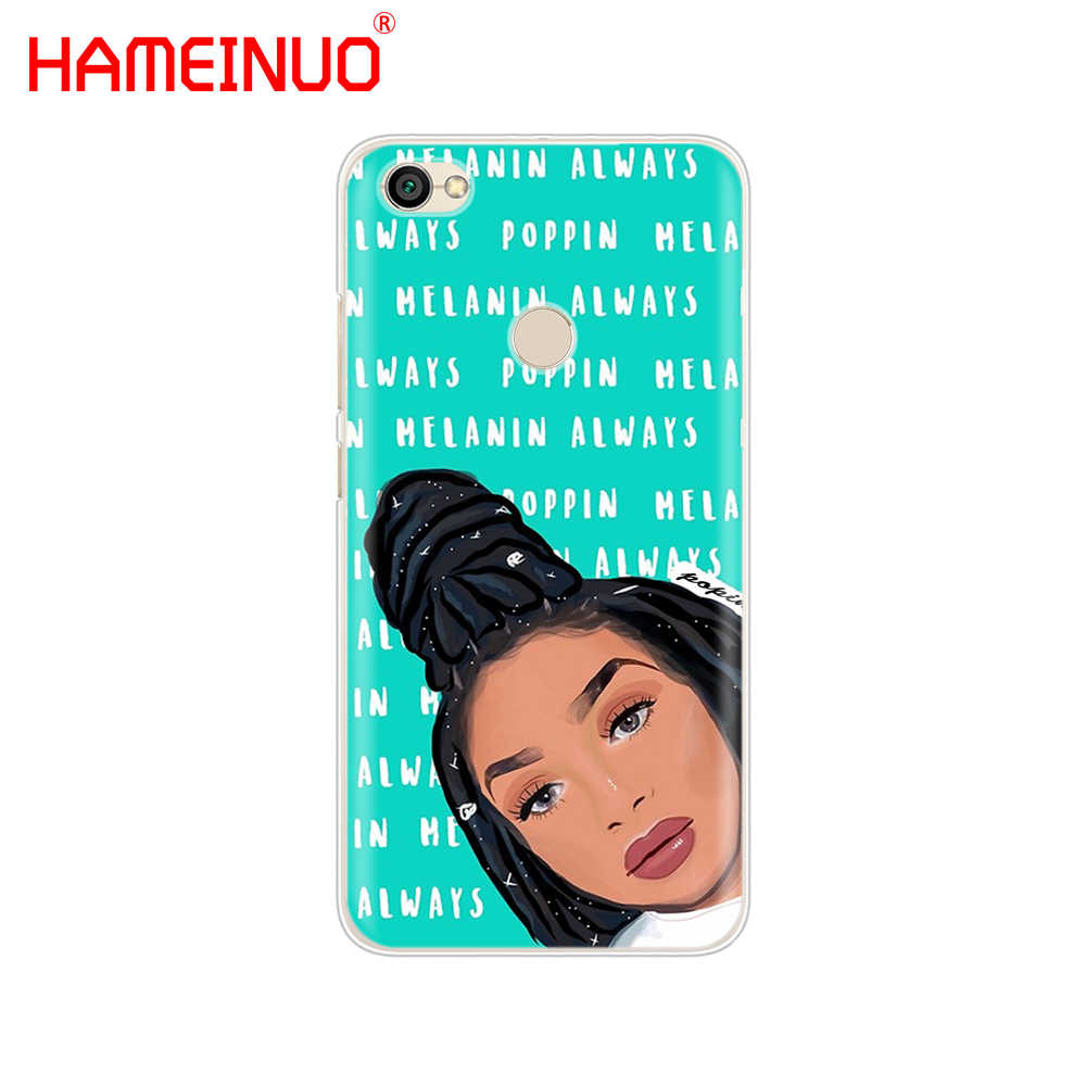 Модный чехол для телефона HAMEINUO Melanin Poppin для Xiaomi redmi 5 4 1 1 s 2 3 s pro PLUS redmi note 4 4X 4A 5A