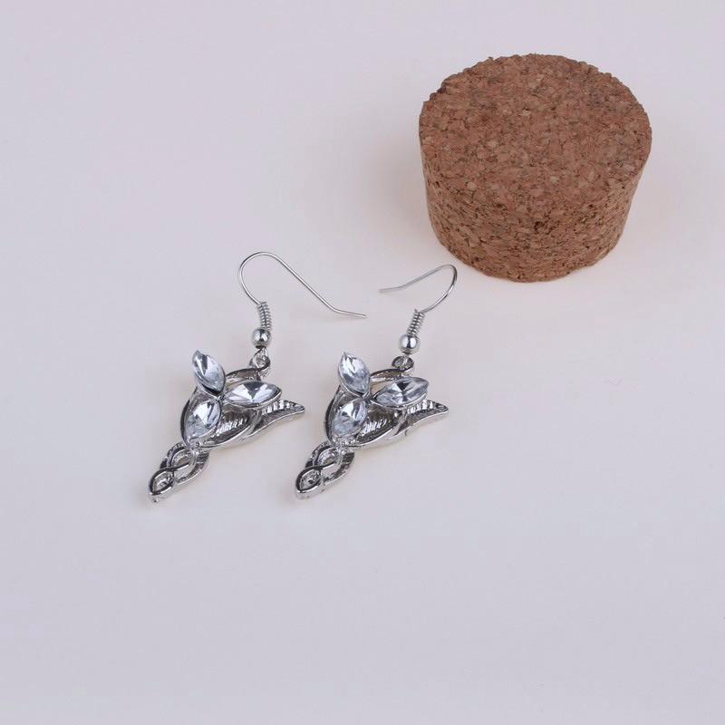 Lord of the Rings Arwen Evenstar Earrings