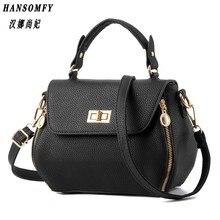 100% en cuir véritable femmes sacs à main 2019 nouveau sac femme coréen stéréotypes mode sacs à main épaule Messenger sac à main