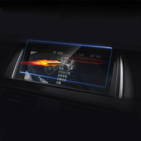 Car Styling Inner Console GPS Navigation NBT Screen Protection Trim Cover Stickers For BMW 1 2