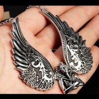 Heavy Hip Hop Jewelry Pendant 316L Stainless Steel Men S Biker Pendant Fashion Jewelry Jewellery Silver