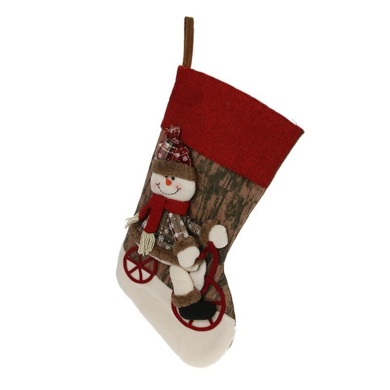 Weihnachtsstrumpf Socken Tasche Weihnachtsverzierung Hängenden ...