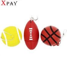 XPAY bola Esportes unidade flash usb gb gb 32 16 8 gb memory stick tênis de  basquete de futebol Pendrive Pendriver usb disco do . ba18b8df0d674