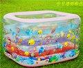 Eco - friendly banheira inflável, Engrosse PVC piscina, Crianças que jogam piscina