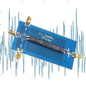 0.1-3000 mhz rf swr ponte sma retorno perda ponte reflexão ponte antena analisador compatível n2adr sdr nwt usb rf