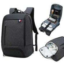 حقيبة ظهر لحمل جهاز الكمبيوتر المحمول حقيبة ذكية 15.6 دفتر حقائب الظهر الرجال النساء إبقاء باردة أكياس كبيرة في الهواء الطلق Waterpoof الأسود Bagpack الأعمال