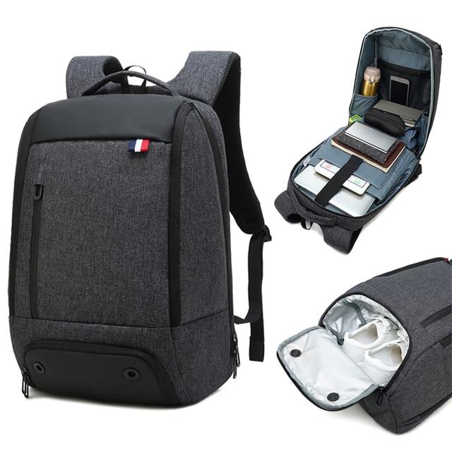 Reise Laptop Rucksack Smart Tasche 15,6 Notebook Rucksäcke Männer Frauen Halten Kühlen Große Taschen Außen Waterpoof Schwarz Bagpack Business