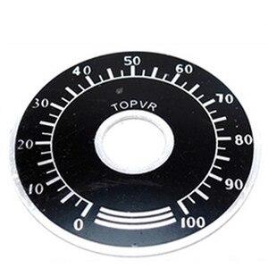 Image 3 - 1000pcs 0 100 WTH118 פוטנציומטר knob בקנה מידה דיגיטלית בקנה מידה יכול להיות מצויד WX112 TOPVR