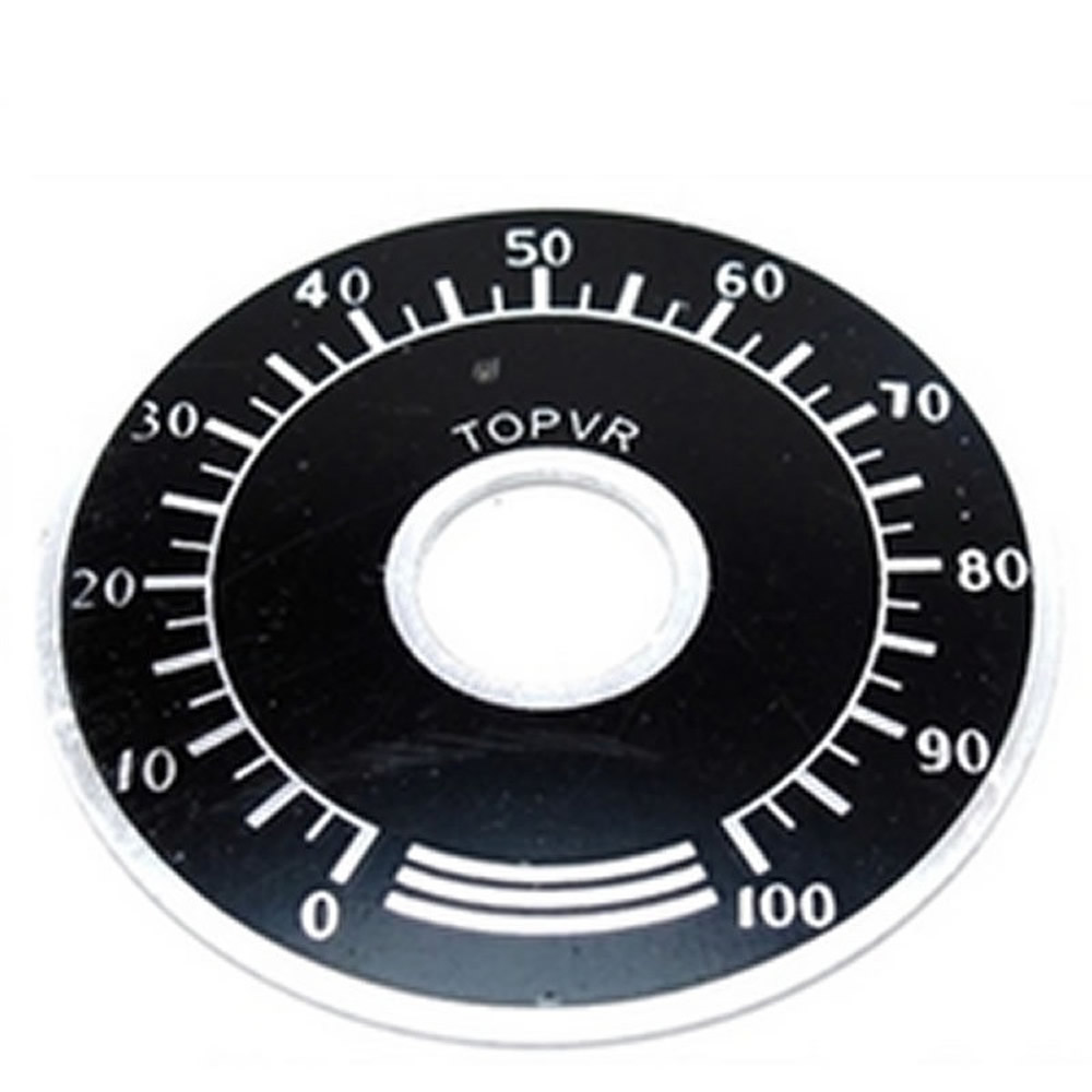 Image 3 - 1000pcs 0 100 WTH118 potentiometer knob scale digital scale can be equipped with WX112 TOPVR-in Potentiometers from Electronic Components & Supplies